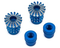 Image 1 for FrSky Lotus Style 3D M4 Gimbal Stick End (Blue)