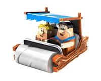 Fascinations Metal Earth Flintstones Car