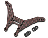 Factory RC Kyosho RB6.6 5mm HD Carbon Fiber Rear Shock Tower (Red) | relatedproducts