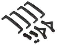 Factory RC Carbon YZ-2T Battery Hold Down Set (Black)