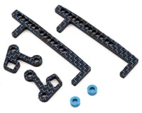"""Factory RC Team Associated """"6"""" series Battery Retention System (Blue)"""