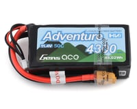 Gens Ace Adventure 3S 50C LiHV Battery Pack w/XT60 Connector (11.4V/4300mAh) (Axial RR10 Bomber)