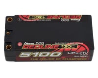Gens Ace Redline 2s Shorty LiHV LiPo Battery 130C w/5mm Bullets (7.6V/5100mAh)