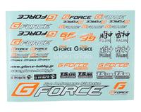 GForce Decal Sheet