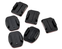 GoPro Flat & Curved Adhesive Mount Set (3 Flat/3 Curved)