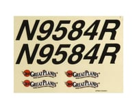 Great Planes Decal Sheet Cherokee .40 ARF
