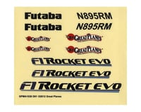 Great Planes Decals F-1 Rocket Evo .46 EP ARF