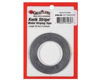 """Great Planes  Striping Tape Black 1/16"""""""