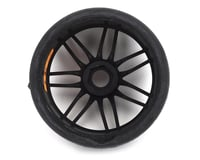 Image 2 for GRP GT - TO2 Slick Belted Pre-Mounted 1/8 Buggy Tires (Black) (2) (S1)