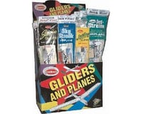 Guillow Balsa Glider/Airplane Asst. Combo Pack 4 (48)