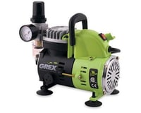 Grex Airbrush 1/8HP Portable Piston Compressor (120V) w/Air Regu