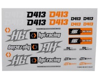 HB Racing Decal Sheet   relatedproducts