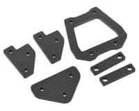Image 1 for HB Racing E817/E817T Carbon Chassis Brace Set