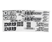 HB Racing D819 Decal Set | relatedproducts
