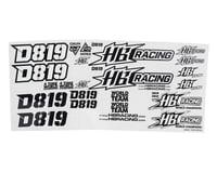 HB Racing D819 Decal Set