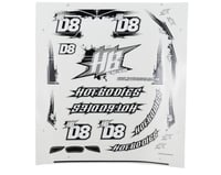 HB Racing D8 Body/Wing Decal Set
