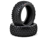 Image 1 for HB Racing Proto 1/8 Buggy Tire (2) (Red)