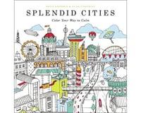 Hachette Adult Coloring Book Splendid Cities