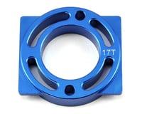 Helion Rock Rider XB Aluminum Motor Mount (Blue) (For 17T)