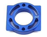 Helion Rock Rider XLR Aluminum Motor Mount (Blue) (For 23T)