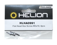Image 2 for Helion 3x10mm Flat Head Hex Screw (4)