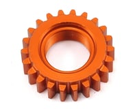 HPI Nitro RS4 3 Drift 1M Aluminum Threaded Pinion Gear (Orange) (22T)