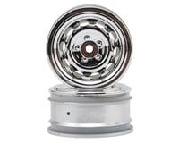 Image 1 for HPI 12mm Hex 26mm Vintage CC Wheel (2) (0mm Offset) (Chrome)