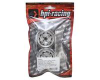 Image 3 for HPI 12mm Hex 26mm Vintage CC Wheel (2) (0mm Offset) (Chrome)
