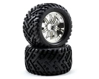 Image 1 for HPI Pre-Mounted Goliath Tire w/Tremor Wheel (2) (Chrome)