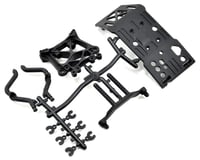 HPI Skid Plate, Body Mount & Shock Tower Set