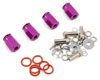 HPI 12mm Aluminum Wide Hex Hub Kit (Purple)