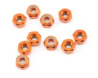 HPI 4mm Aluminum Locknut (Orange) (10)