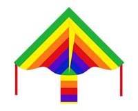 "HQ Kites 102130 36"" ECOLINE RAINBOW SIMPLE FLYER"