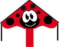 HQ Kites Simple Flyer Ladybug Kite, 33""