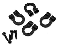 Image 1 for Hot Racing 1/10 Aluminum Tow Shackle D-Rings (4) (Black)