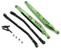 Hot Racing Axial Yeti SCORE Aluminum Rear Link Set (Green)
