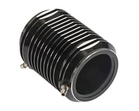 Hot Racing Aluminum 36mm Water Cooling Jacket Black M41 (Traxxas Spartan)