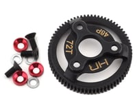 Hot Racing 48P Hardened Steel Spur Gear (Red) (72T) | alsopurchased