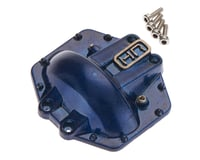 Hot Racing Metal Low Profile AR60 Diff Cover Blue Yeti/W