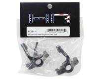 Image 2 for Hot Racing Axial Yeti Aluminum Steering Knuckles (Black) (2)