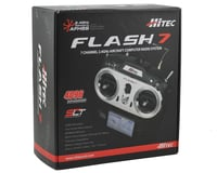 Image 4 for Hitec Flash 7 2.4GHZ 7-Channel Aircraft Radio System w/Optima 7 Receiver