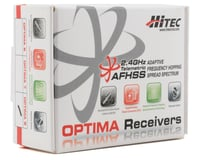 """Image 2 for Hitec """"Optima 9"""" 9 Channel 2.4GHz Receiver"""