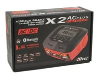 Image 4 for Hitec X2 AC Plus Black Edition AC/DC Multi-Charger (6S/10A/100W)