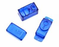 Image 1 for Hitec HS-50 Servo Case Set (Clear Blue)
