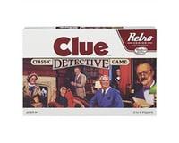 Hasbro *Bc* Retro Clue Game 8/17
