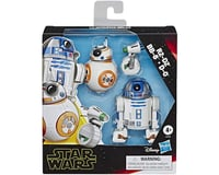 Hasbro Star Wars Galaxy Of Adventures R2-D2, Bb-8, D-O Action Figure 3 Pack