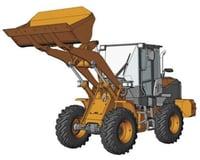 Hasegawa 1/35 Hitachi ZW100-6 Wheel Loader Construction Mac
