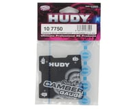 Image 2 for Hudy Graphite 1/10 Touring Quick Camber Gauge (1.5°; 2°; 2.5°)