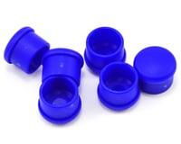 Hudy 18mm Plastic V2 Handle Cap Set (Blue) (6)