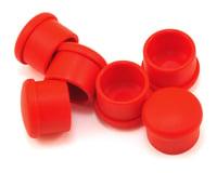 Hudy 18mm Plastic V2 Handle Cap Set (Red) (6)